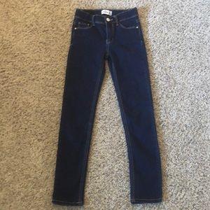 Dark wash jeans!